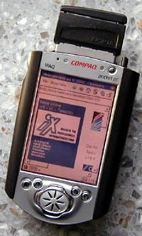 Image of HP iPAQ H3600