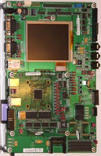 Image of S3C2440 Evaluation Board